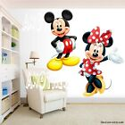 Mickey Mouse and Minnie Mouse Room Decor Wall Decal Removable Sticker