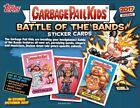 2017 Topps Garbage Pail Kids GPK Battle Of Bands Collector's Edition 8 Box Case