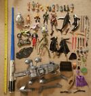 Huge Random Rare Misc Loose Mixed Action Figure Accessories Toy Pre owned Lot
