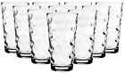 10 Pack Clear Drinking Glass Kitchen High Ball Glassware Beverage Bar Cups 17Oz
