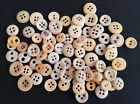Lot of 85 Antique Civil War Era Bone Buttons 2 and 4 Hole Maybe Some Porcelain