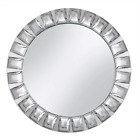 Charger Plate with Big Beads ChargeIt Mirror Glass Hand Wash Only Decoration Use