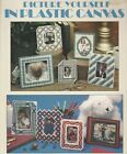 Plastic Canvas Pattern Leaflet 9 Different Picture Frame Projects 7 count pc