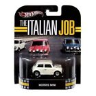 2013 Hot Wheels Retro Entertainment The Italian Job Morris Mini White