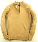 Tommy Hilfger Pullover  Sweater Wolle Beige Gr. L