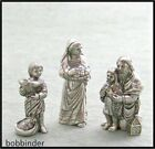 Danforth 72 550 550G Innkeeper Family Pewter Nativity Set 3 Piece NIB