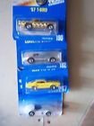 HOT WHEELS LOT OF 4BLUE CARDS 3 1991 1 199657 T BIRDCORVETTEOLDS 442MACH 1