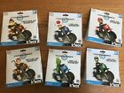 Lot of 6 Kart knex building bike sets~Toad Mario Diddy &Donkey Kong Yoshi Luigi