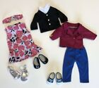 "18"" Doll Clothes And Shoes Fit American Girll Doll"