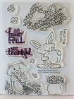 Simon Says Stamp  Newtons Nook HELLO FALL Stamps bunny cat leaves STAMPTEMBER