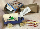 Vintage 1994 Playmobil Model 3785 Box and Wagon ONLY