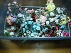 Millinery Flower 80pc bunch lot assorted colors dolls doll hats crafts