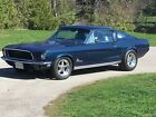 1968 Ford Mustang FASTBACK S CODE 390 4 SPEED 1968 MUSTANG FASTBACK S CODE Motivated Seller