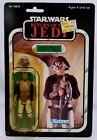 Vintage KennerStar Wars ROTJ Lando Calrissian Skiff Guard Disguise 65 Back MOC