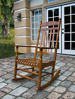 Shine Rocking Chair Rhode Island Style Porch Rocker Patio Deck 2 Colors