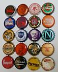 20 OLD  NEW USED PLASTIC LINED BEER BOTTLE CAPS