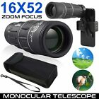 Day Night Vision Binoculars 30 x 60 Zoom Outdoor Travel Folding Telescope w Bag
