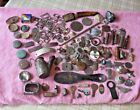Huge Lot of Antique Metal Detecting ARTIFACTS - PRECIOUS METAL DETECTING FINDS