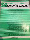 John Lennon And Paul Mccartney Easy Big Note Guitar tab notes Beatles