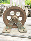 Antique Vintage Marine Bronze Block Vintage Nautical Pulley Upcycle Steampunk