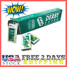 50 Derby Extra Double Edge Razor Blades Stainless Steel Fits Any Standard DE NEW