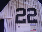 NEW YORK YANKEES JACOBY ELLSBURY GAME USED SIGNED AUG 24 2014 JERSEY STEINER PSA