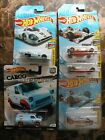 CHASE Hot Wheels GULF Lot of 5 with INDY SUPER TREASURE HUNT 50th Cargo Carriers