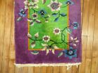 Antique Chinese Art Deco Rug Size 2'X3'