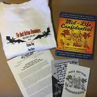 Rock Bottom Remainders Mid Life Confidential  T Shirt Stephen King Signed