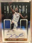 2013-14 Intrigue Kevin Durant Dual Game Patch Auto 49!!!!!