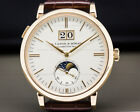 A. Lange and Sohne 384.032 Saxonia Moon Phase Automatik BOX + PAPERS