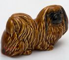 Porcelain Figurine of the Pekingese dog