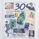 NEW VINTAGE 1994 1964 T SHIRT MENS XL GILLIGAN TINY TIM PEACE VOLKSWAGEN HIPPIE