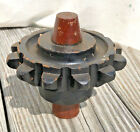 Vintage Industrial Foundry Mold Pattern Sand Casting Gear Wheel