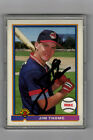 1991 BOWMAN JIM THOME AUTOGRAPH ROOKIE BASEBALL CARD CLEVELAND INDIANS SIGNED