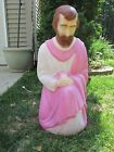 CHRISTMAS NATIVITY JOSEPH EMPIRE BLOW MOLD YARD LIGHT WITH CORD WORKS