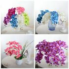 Artificial Butterfly Orchid Silk Fake Flowers Wedding Phalaenopsis Bouquet
