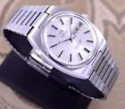 VINTAGE OMEGA SEAMASTER AUTOMATIC SILVER DIAL DAY&DATE DRESS MEN'S WATCH