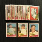 1965 TOPPS NEW YORK YANKEES COMPLETE TEAM SET 28 CARDS VG-EX MICKEY MANTLE +