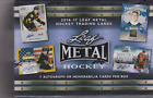 2016-17 Leaf Metal Hockey Box * 7 autograph or memorabilia *