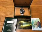 Rolex Submariner Date Black Dial Stainless Steel 16610 no reserve