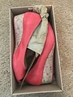Cole Haan Women's Air Talli open toe Wedge, color Red 8M in original box