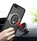 For iPhone 6 6S 7 8 Plus Ring Shockproof Protective Rugged TPU Back Case Cover U