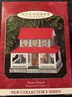 Hallmark Keepsake Ornament 1999 Farm House Town and Country # 1 pressed tin