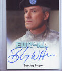 A Town called Eureka Signed Trading Card (2011) Barclay Hope Autograph
