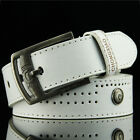 Men Fashion Vintage Pin Buckle Leisure Jeans Leather Belt casual Belt SA