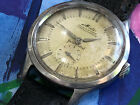 Vintage Mido multifort powerwind automatic men's Wristwatch patina dial runs