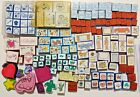 Lot of 150 Foam Rubber Stamps Variety Holidays Sayings Animals Family etc
