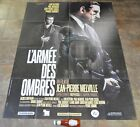 ARMY OF SHADOWS Movie Poster MASSIVE Rare Jean Pierre Melville CriterionNEW