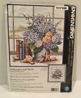 Counted Cross Stitch Hydrangeas and Shells Dimensions T17166
